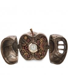 WS-1069 Часы настольные в стиле Стимпанк «Яблоко»
