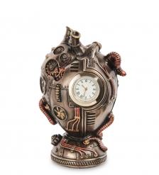 WS-1070 Часы настольные в стиле Стимпанк «Сердце»