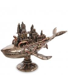 WS-1072 Статуэтка в стиле Стимпанк «Пятидесятидвухгерцевый кит»