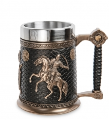 WS-1077 Пивная кружка Рыцарь-крестоносец