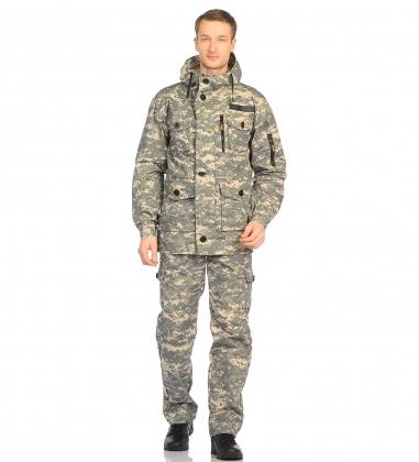 ЯЛ-02-107 Костюм куртка/брюки р.44-46, рост 182-188, кмф светло-серый