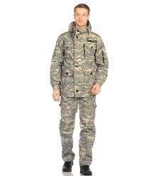 ЯЛ-02-107 Костюм куртка/брюки р.52-54, рост 182-188, кмф светло-серый