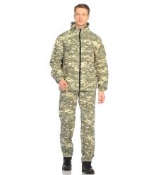 ЯЛ-02-108 Костюм куртка/брюки р.48-50, рост 182-188, кмф светло-серый