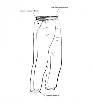 ЯЛ-02-108 Костюм куртка/брюки р.52-54, рост 182-188, кмф светло-серый