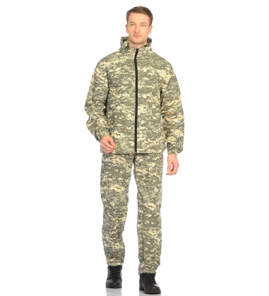 ЯЛ-02-108 Костюм куртка/брюки р.56-58, рост 170-176, кмф светло-серый