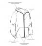 ЯЛ-02-108 Костюм куртка/брюки р.60-62, рост 170-176, кмф светло-серый