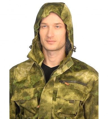 ЯЛ-02-118 Костюм муж. р.48-50, рост 170-176, кмф зеленый