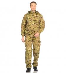 ЯЛ-02-120 Костюм куртка/брюки, р.56-58, рост 170-176, кмф