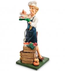 FO-85549 Статуэтка «Повар»  The Lady Cook. Forchino