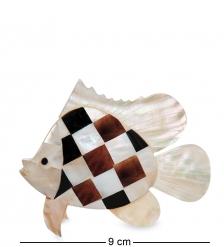 54-011-02 Декоративное изделие из перламутра «Рыба»