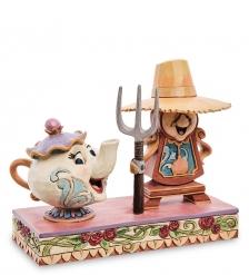 Disney-6002813 Фигурка «Когсворт и миссис Поттс»