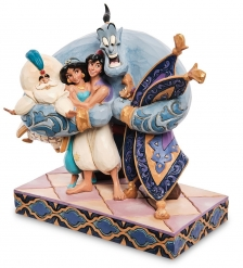 Disney-6005967 Фигурка «Хэппи-энд  Алладин »