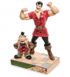 Disney-6005969 Фигурка  Гастон и Лефу  Красавица и чудовище