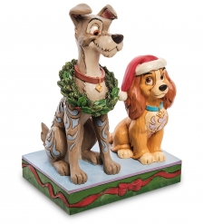 Disney-6007071 Фигурка «Рождество  Леди и Бродяга »