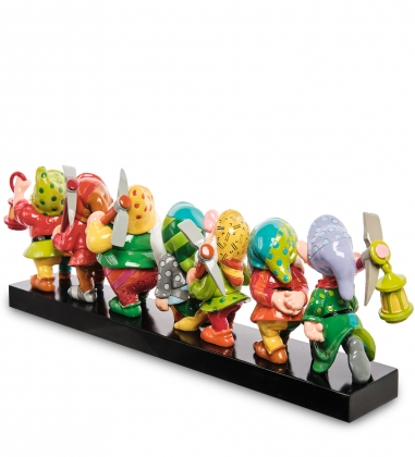 Disney-6001300 Фигурка  Семь гномов