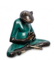 24-104-02 Фигура «Лягушка» бронза  о.Бали