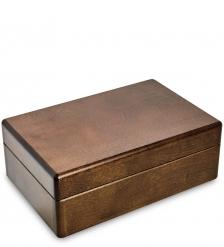 JW-03/02 Шкатулка деревянная под украшения  Орех  20х13 см