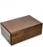JW-03/02 Шкатулка деревянная под украшения «Орех» 20х13 см