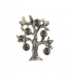 AM-2292 Фигурка кошельковая «Денежное дерево»  латунь