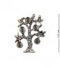 AM-2292 Фигурка кошельковая  Денежное дерево   латунь