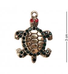 AM-2312 Фигурка кошельковая «Черепаха радость»  латунь