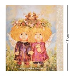 ANG-1456 Открытка  Ангелы семейного счастья  15х17