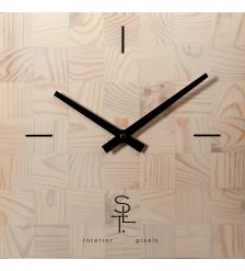 SLT-22 Часы настенные «CHESS WHITE WOOD»