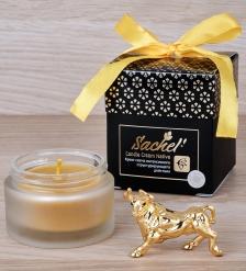 SET-01 Подарочный набор Символ года Бык с кремом-свечой