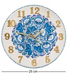 KH-10/1 Часы с хохломской росписью настенные 22х250