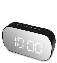 ЯЛ-07-25/3 Часы электронные зеркальные  черный с белым циферблатом