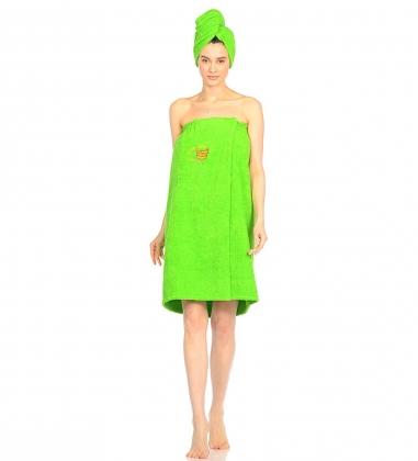 ЯЛ-10-03/11 Полотенце женское зелёный