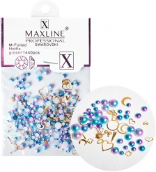ЯЛ-12-16/3 Стразы для дизайна ногтей «MAXLINE SWAROVSKI» 1440шт
