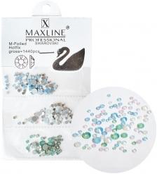 ЯЛ-12-16/4 Стразы для дизайна ногтей «MAXLINE SWAROVSKI» 1440шт