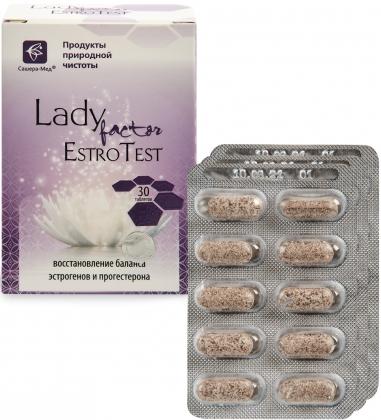 MED-51/06 LadyFactor Estrotest в таблетках №30