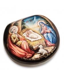 ШК-55/161 Шкатулка «Рождество Христово» исп. Земина