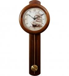 SLT-82 Часы настенные с маятником винтажные «VINTAGE»