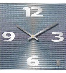 SLT-94 Часы настенные в стиле модерн «GRAY GRID»