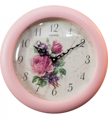 SLT-101 Часы настенные ШЕББИ ШИК