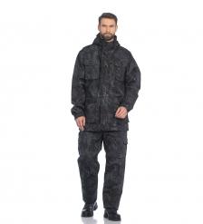 ЯЛ-02-151 Костюм муж. куртка/брюки, р.44-46, рост 170-176, демисезонный, кмф черный