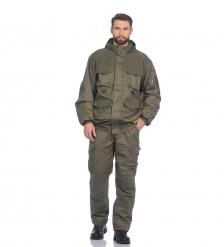 ЯЛ-02-153 Костюм муж. куртка/брюки, р.44-46, рост 170-176, демисезонный, хаки