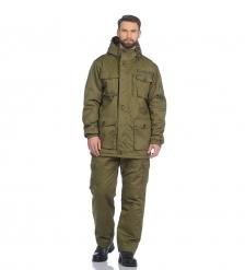 ЯЛ-02-154 Костюм муж. куртка/брюки, р.52-54, рост 170-176, демисезонный, хаки