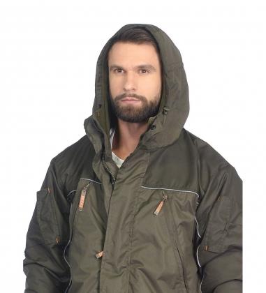 ЯЛ-02-155 Костюм муж. куртка/брюки, р.48-50, рост 170-176, демисезонный, хаки