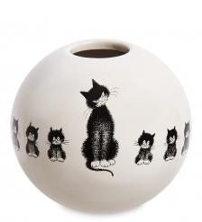 DUB104 Подсвечник «Дружный ряд»  Cat in a row. Parastone