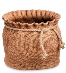 ZLC-66 Кашпо глиняное «Мешок с веревкой»