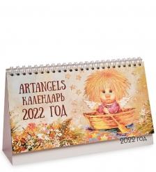 ANG-357 - 2022 Календарь перекидной настольный 13х21