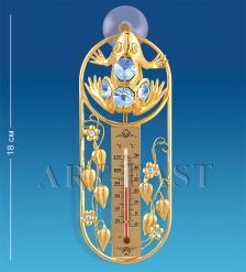 AR-3734 Термометр на липучке  Лягушка   Юнион