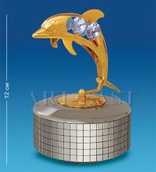 AR-3358 Фигурка музыкальная «Дельфин»  Юнион