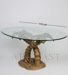 ALF 09151 СтатуэткаДве пальмы  стекло  72*47*35*114