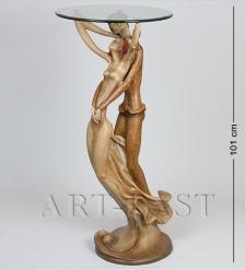 ALF 09196 СтатуэткаВлюбленные  стекло  35*102*40*46