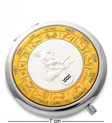 WIN- 02- 1 Зеркало серебр. «Знак Зодиака - Водолей»